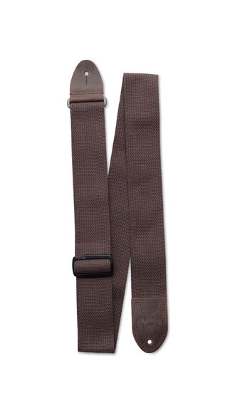 Basic Cotton Weave Strap w/ Pick Holder (Brown)